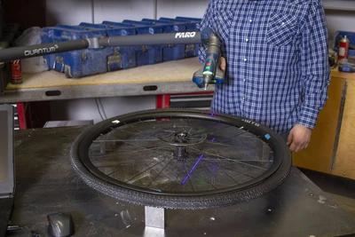 FLO Gravel Wheel Design Journey Part 11 - Can Gravel Wheels Be Aerodynamic? - Tire Scanning & CFD